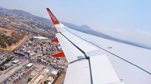 easyjet airbus a320 g ezoo take off from heraklion crete runway 27