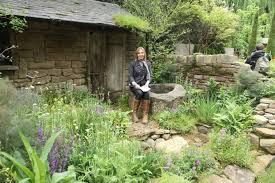 garden designer former capel manor garden design student brings chelsea medal