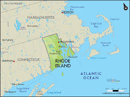 map rhode island geographical map of rhode island and rhode island geographical maps