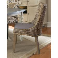 Woven Dining Chair Safavieh Rural Woven Dining Suncoast Unfinished Wicker Arm