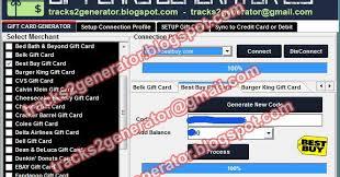 Bed Bath Beyond Gift Card Balance Track 2 Generator Gift Card Generator 2 9