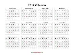 printable calendar generator blank calendar 2017