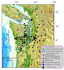 Washington State Earthquake Map by During The Summer Of 2006 Teams Of Seismologists Will Deploy A