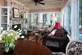 Cozy Sunroom Lake House With Cozy Interiors Home Bunch U2013 Interior Design Ideas