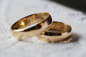 with these rings handmade wedding bands a practical wedding