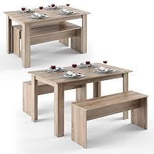 sitzgruppe esszimmer esstisch und bank bestseller shop für möbel und einrichtungen