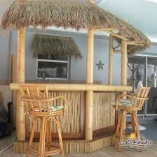 How To Build A Tiki Hut Roof Cali Bamboo Thatch 4ft X 4ft Thatch Panel Cali Bamboo