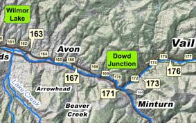 Vail Mountain Map Traffic Incident At Mile Marker 167 Westbound On Interstate 70