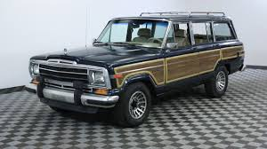 jeep grand wagoneer concept 1988 jeep grand wagoneer blue youtube