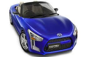daihatsu daihatsu kopen concept previews next generation sports kei car