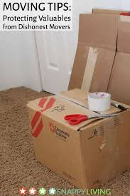 moving tips protecting valuables from dishonest movers