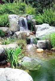 diy pond waterfall spillway backyard pond waterfall construction