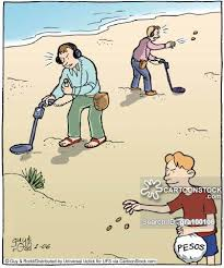 Metal Detector Meme - coin shooters cartoons and comics funny pictures from cartoonstock