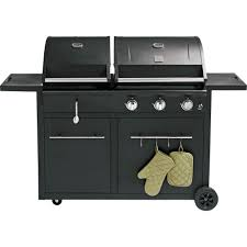 Brinkmann Dual Function Grill by Gas Charcoal Combo Grill Weber Grills U0026 Outdoor Cooking
