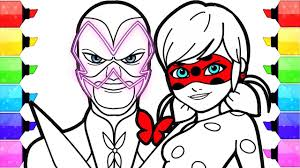 miraculous ladybug coloring pages how to draw and color ladybug