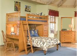 Loft Bed Set 5 Pc Mission Storage Twin Loft Bed Set W Wakefield Dresser And