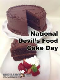 May 19th Is National Devil U0027s Food Cake Day Mrs G U0027s Appliance Chef