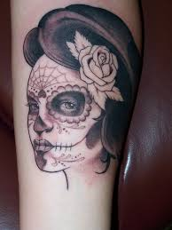 20 skull tattoos for girls design ideas sugar skulls tattoo and