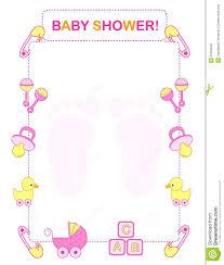 baby shower invitation royalty free stock photos image 21622548
