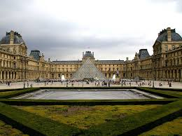louvre museum at sunset wallpapers other louvre museum paris monalisa wallpaper background free for