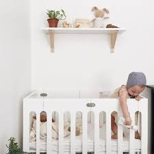 Mini Crib White Bloom Alma Mini Crib White