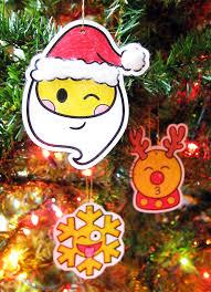emoji ornaments christmas craft emoji classroom tree and activities