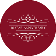 what is 40th wedding anniversary ruby 40th wedding anniversary invitation by purpletrail