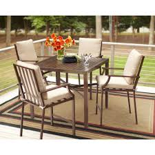 Patio Furniture From Home Depot - polywood la casa cafe white 5 piece patio counter set pws143 1 wh