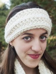 knitted headband pattern bulky mistake stitch scarf and headband knitting patterns
