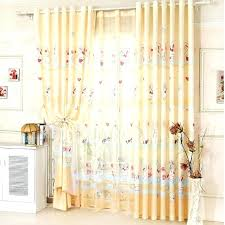 Yellow Blackout Curtains Nursery Nursery Curtains Teawing Co