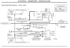 western vehicle side wiring diagram 3 port 3 plug