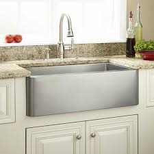 Cabinet For Kitchen Design by Kitchen Stainless Steel Curve Faucet Combine With Stainless Steel