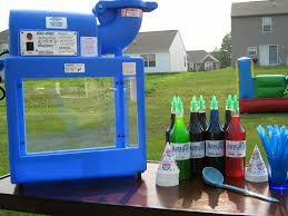 sno cone machine rental stuff michigan tent rental