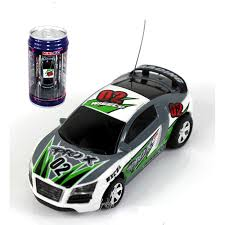 remote control car lights mini rc racing car 1 64 coke pop top can 4ch radio remote control