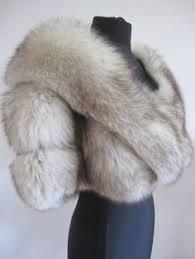 natural brown sable mink faux fur stole cape with collar limited