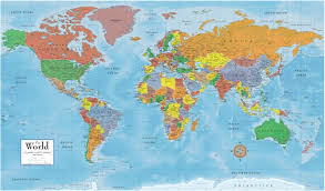 India On World Map How Many Countries In The World Of 7 Continents And 5 Oceans