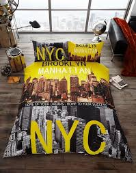 brooklyn duvet cover nyc new york city quilt cover bedding set