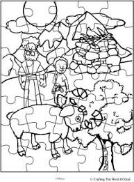 abraham offers isaac puzzle activity sheet crafting the word of god