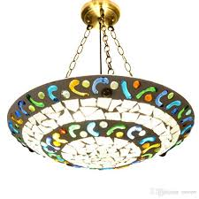 Mosaic Pendant Lighting by Mosaic Dining Room Hanging Lamp Mediterranean Style Living Room