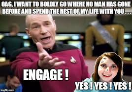 Oag Meme - overly attached girlfriend weekend imgflip