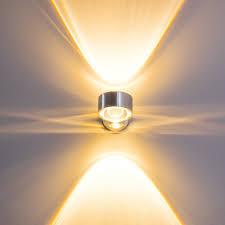 Design Wandleuchten Wohnzimmer Design Wandleuchte Wandlampe Flurlampe Wandstrahler Leuchte Glas