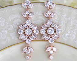 Chandelier Earrings Bridal Chandelier Earrings Etsy