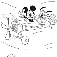 baby mickey mouse drawing coloring page color luna