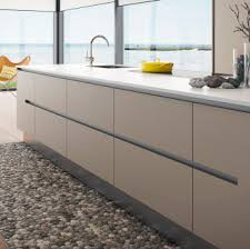 white gloss kitchen doors integrated handle contemporary kitchen vh 7 concept hth køkkener