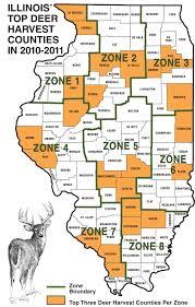 Dekalb Illinois Map by 2011 Illinois Deer Hunting Forecast Game U0026 Fish
