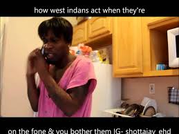 Indian Parents Memes - how west indian parents get on when them on phone so funny lolz
