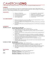 Formats For Resumes Free Resume Examples By Industry U0026 Job Title Livecareer