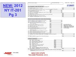 nys tax table new york state taxes and credits ppt