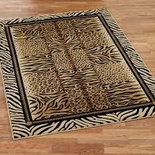 flooring leopard bath rugs leopard rug fake cowhide rug