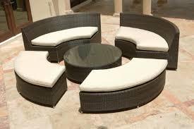 source outdoor circa round coffee table with umbrella hole so 025